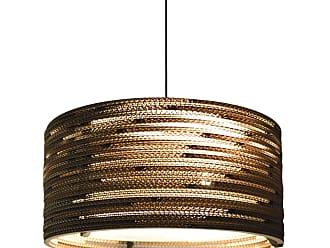 Grey Pants Lampen : Graypants hängelampe bell aus karton braun Ø cm