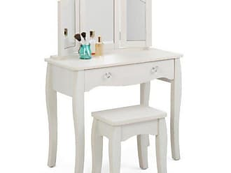 4D Concepts Lindsay Vanity with Stool - 28429