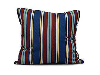 E by Design E by design PS766BL40-18 Multi, Stripe Print Pillow