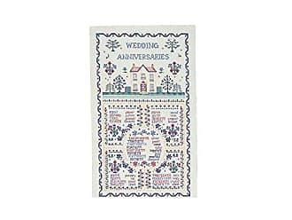 Ulster Weavers s Wedding Sampler Linen Tea Towel