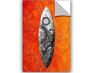 ArtWall Dragos Dumitrascus Surf Blades Removable Wall Art, 24 x 36
