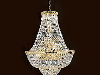 Worldwide Lighting W83032G22 Empire 22 Light 1 Tier 22 Gold