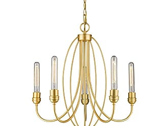 Z-Lite 3000-5 Persis 5 Light 22 Wide Single Tier Chandelier with