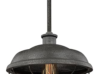 Feiss Lennex - 1 - Light Mini-Pendant in Slated Grey Metal