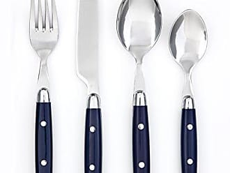 Cambridge Silversmiths 07516R Jubilee 16-Piece Flatware Set, Blue, Service for 4