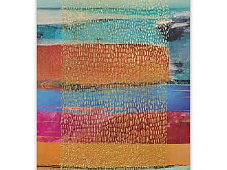 Gallery Direct Golden Rain Hand Embellished Canvas Wall Art - 103520EC000