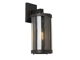 Feiss Bluffton 1 Bulb Oil Rubbed Bronze Outdoor Lantern Wall Sconce