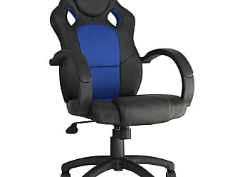 Rivatti Cadeira Gamer Racer Preta e Azul