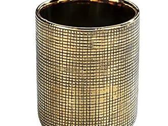 Plateado Wenko Vaso De Dientes 8x20x9.5 cm Lat/ón