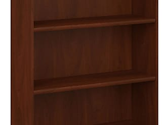 Bush Furniture Furniture Hansen 3-Shelf Cherry Bookcase