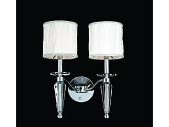 Worldwide Lighting W23132C13 Gatsby 2 Light 13 Wall Sconce in Chrome