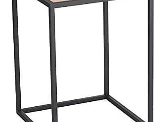 Yamazaki Home 3325 Tower Square Coffee Table BK Space Saving, One Size, Black