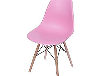 Ór Design Cadeira Eames Wood Rosa PP Or Design