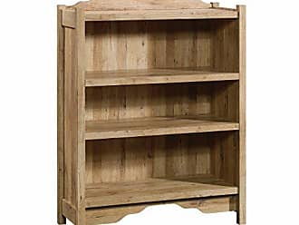 Sauder Sauder 420117 Viabella 3 Shelf Bookcase, 35.28L x 14.49W x 46.69H, Antigua Chestnut finish