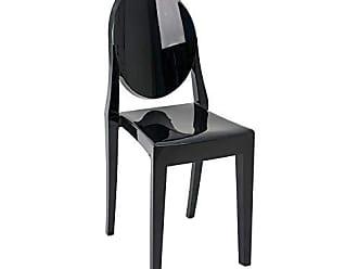 Mobly Cadeira Sofia Preta - Preto Sólido