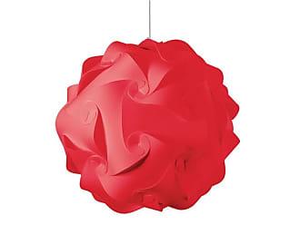 Dainolite DBL-L-795 Daino Ball 3 Light Pendant Red Indoor Lighting