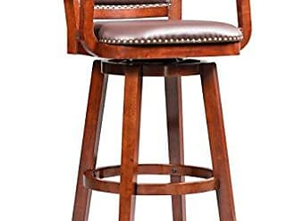 Boraam 51934 Broadmoor Swivel Extra Tall Barstool, 50-Inch, Cherry
