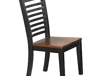 Winners Only Santa Fe Espresso Ladder Back Dining Side Chair - Set of 2 - WIN256-1