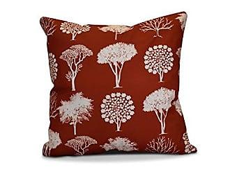 E by Design E by design O5PFN741OR16-16 Printed Outdoor Pillow