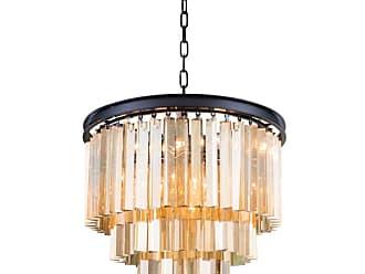 Elegant Lighting 1201D20 Sydney 20 Wide 9 Light Chandelier Polished