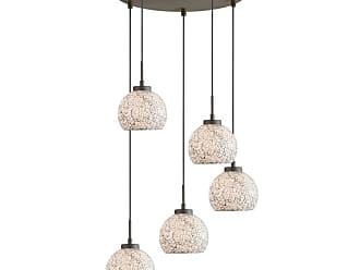 Woodbridge Lighting 13325MEB-M00 5 Light 16 Wide Multi Light Pendant