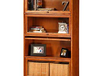 Eagle Furniture Classic Oak Customizable 4-Door Lawyer Bookcase - 5334PLMD