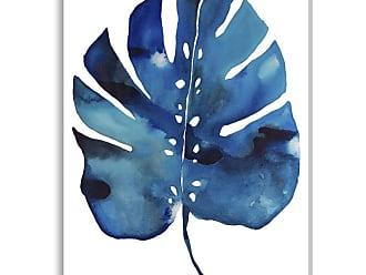 Gallery Direct Split Leaf Indoor/Outdoor Canvas Print by Kate Roebuck, Size: Medium - NE73448