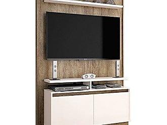 Imcal Painel para TV 40 Polegadas Fit Madeira Touch com Off White 122 cm