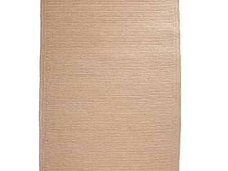 Rhody Rug Blue Ridge Rectangle Wool Braided Rug, 23 x 8 Runner, in Wheat