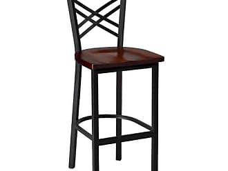 Regal Clovis 30 in. Bar Stool with Wood Seat