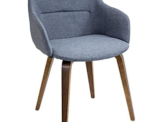 LumiSource Campania Dining Chair Blue - CH-CMP WL+BU