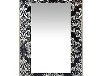 Infinity Instruments French Country Damask Rectangle Wall Mirror - 15.75W x 23.5H in. - 15430