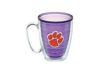 Trevis Tervis 1086196 Clemson University Emblem Individual Mug, 16 oz, Amethyst