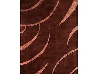 Noble House Citadel Area Rug - Brown/Peach, Size: 8 x 11 ft. - CIT402811