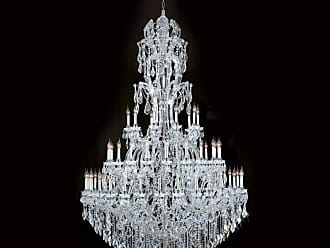 Worldwide Lighting W83067C65 Maria Theresa 60 Light 3 Tier 65 Chrome