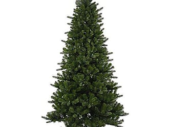 Vickerman Ogden Fir 8 Function Artificial Christmas Tree with 600 LED Lights, 7.5 x 50