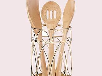 Kate Spade New York Arch Street Utensil Crock, Gold