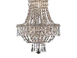 Elegant Furniture & Lighting Elegant Lighting Tranquil 2528 Wall Sconce Swarovski Strass/Elements Crystals - V2528W12C/SS