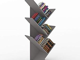 Siena Móveis Estante para Livros Diagonal Spine Siena Móveis Metalizado Magnet