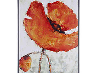 Art Maison Canada Orange Glory Framed Acrylic Canvas Wall Art - HAYN3052