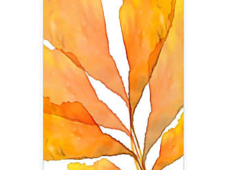 Ptm Images Autumn Leaves 3 Framed Canvas Wall Art - 9-115607