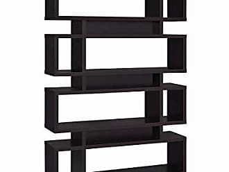 Coaster Home Furnishings 4-Tier Bookcase Cappuccino