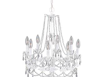Livex Lighting 8188 Athena 8 Light 1 Tier Chandelier with Crystal