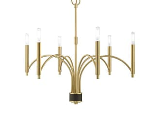 Livex Lighting 51336 Wisteria 6 Light 26 Wide Chandelier Scandinavian