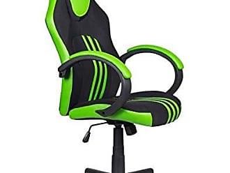 Pelegrin Cadeira Gamer Pelegrin PEL-3005 Tecido Preto Couro PU Verde
