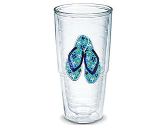 Trevis TERVIS Boxed Tumbler, 24-Ounce,Flip Flop Shimmer and Sequins Ladies