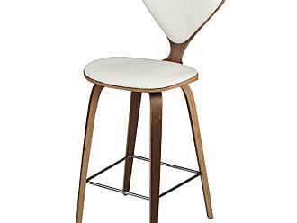 NUEVO Satine Counter Stool Walnut - HGEM795