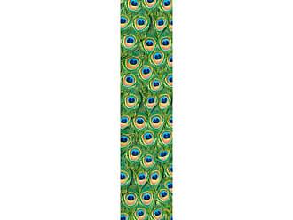Ideal Decor Peacock Wall Stripes - DM74516