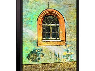 Brushstone The Window by Scott Medwetz Framed Canvas - 0MED904A0810F