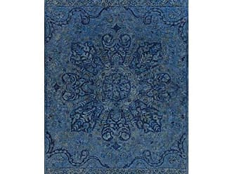 Surya MYK5004-3353 Hand Tufted Casual Accent Rug, 3-Feet 3-Inch by 5-Feet 3-Inch, Navy/Teal